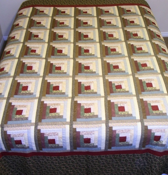 log cabin quilt designs