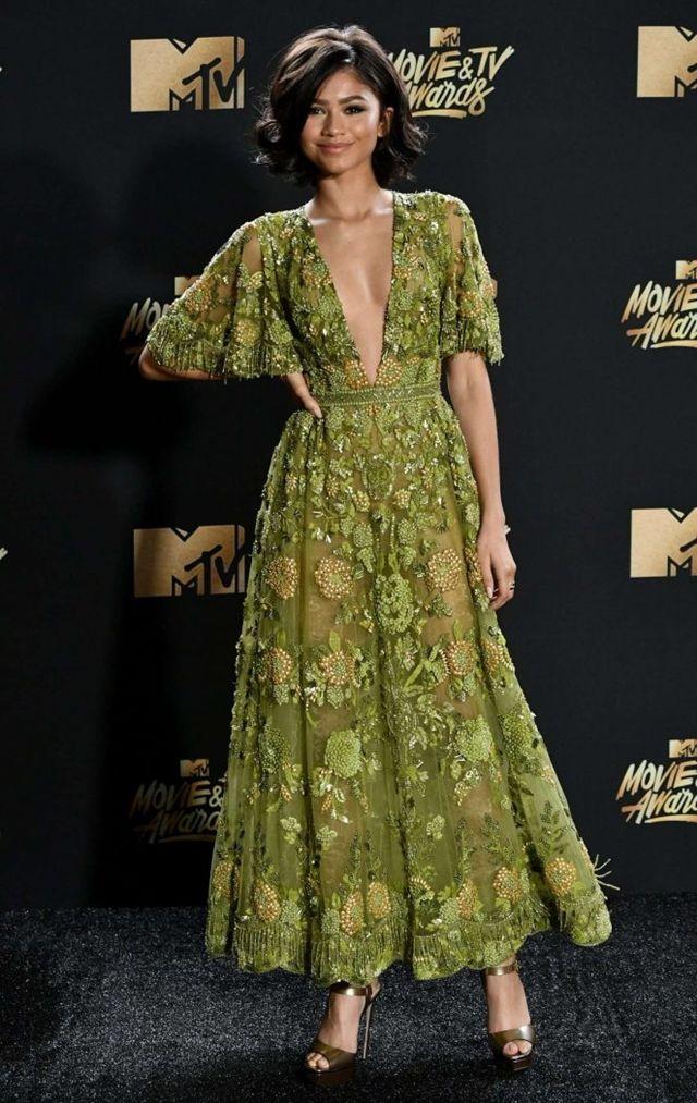 Zendaya In Zuhair Murad Couture at MTV Awards