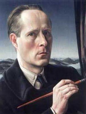 """Zelfportret (Self-Portrait)"", 1947 / Carel Willink (1900-1983) / Private Collection"
