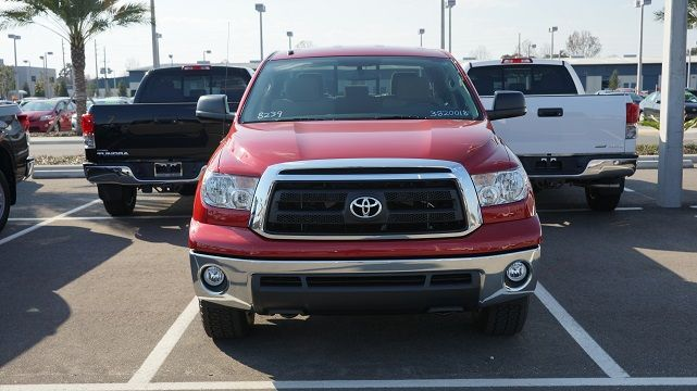 The new Toyota Tundra near Orlando is expected to sport a whole new style when the 2014 model year arrives. However, you can count on a couple features not changing -- how durable it is, and how it's ready for practically any tow load! Not sure if the 2013 Toyota Tundra near Orlando is the right truck for you? Find out here! http://blog.toyotaofclermont.com/2013/find-the-best-new-toyota-that-can-tow-with-our-tips/