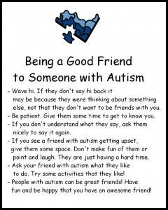 Autism Awareness Unit - Help Raise Understanding and Knowledge!  Some excellent information here.  Read more at:  http://blog.teacherspayteachers.com/teach-our-children-well-how-to-foster-disability-awareness/