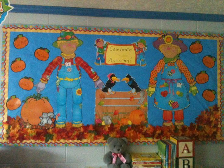 45 best images about bulletin board on pinterest class for Autumn classroom decoration