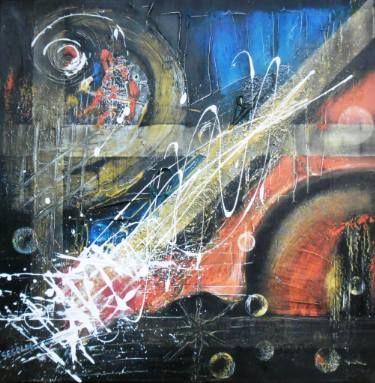 "Saatchi Art Artist Ildiko Decsei Csegoldi; Painting, ""Pentimento"" #art"