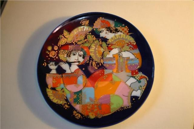 Björn Wiinblad did this lovely plate many years ago.