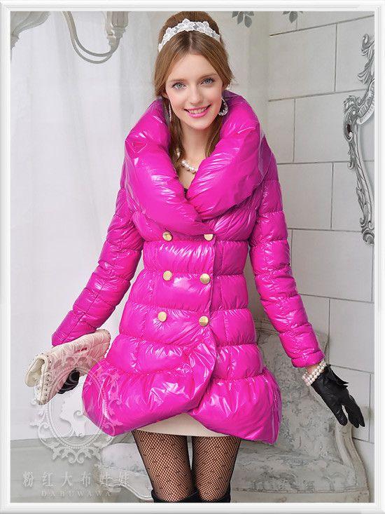 Aliexpress.com: Acheter Dabuwawa New Jaqueta Feminina 2015 marque OL hiver épais manteau doudoune femmes Slim grande revers Type de queue de poisson Parka de veste annonces fiable fournisseurs sur DABUWAWA Trade Co.,Ltd