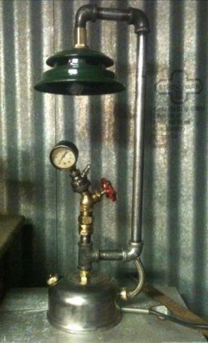 Vintage Steampunk Industrial Machine Age Coleman Lantern
