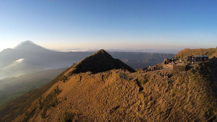 Vulkan-Trekking auf Bali: Sonnenaufgang auf dem Gunung Batur