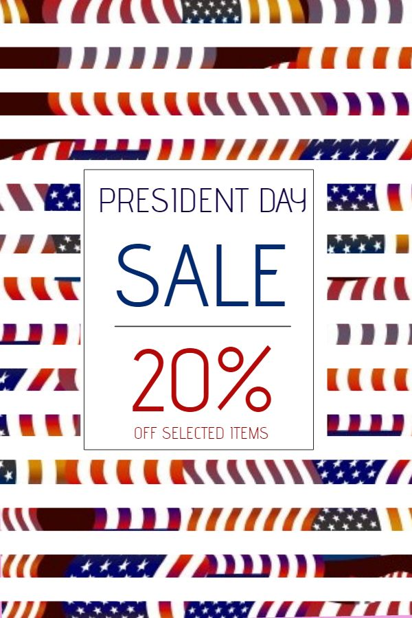 16 best Presidentu0027s Day Poster Templates images on Pinterest - for sale template free