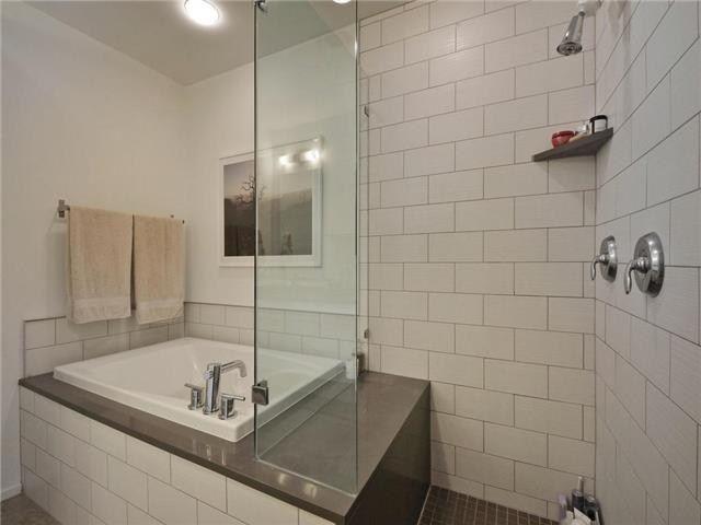 Small soaking tub shower combo bath remodel pinterest - Bathtub shower combo for small bathroom ...