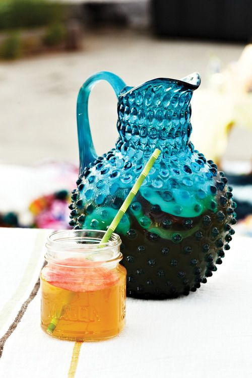 Ginger Peach Iced Tea #AnthroBlog