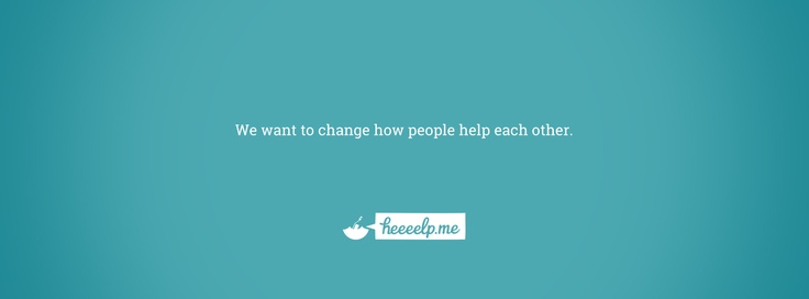 Heeeelp.me is here to change how people help each other