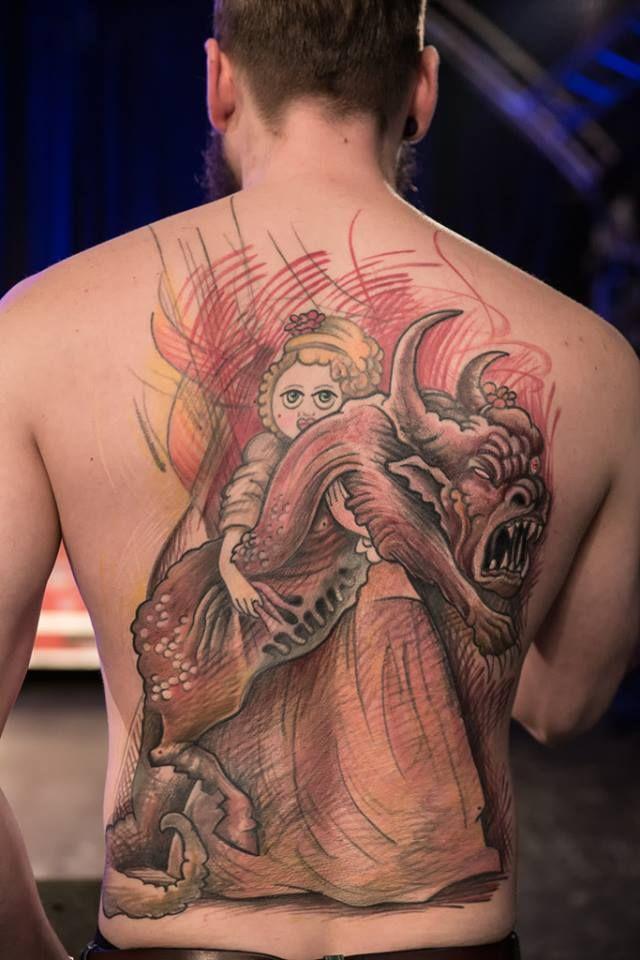 the best large Hamburg tattoo convention 2016