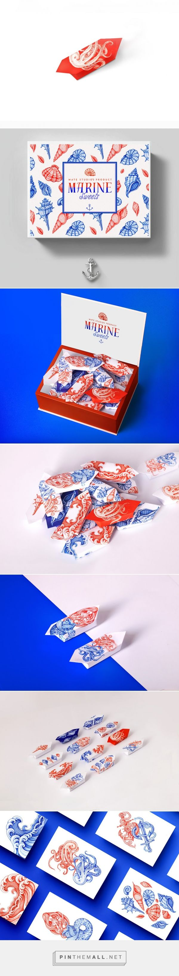 Marine Sweets (Concept)  - Packaging of the World - Creative Package Design Gallery - http://www.packagingoftheworld.com/2015/05/marine-sweets-concept.html