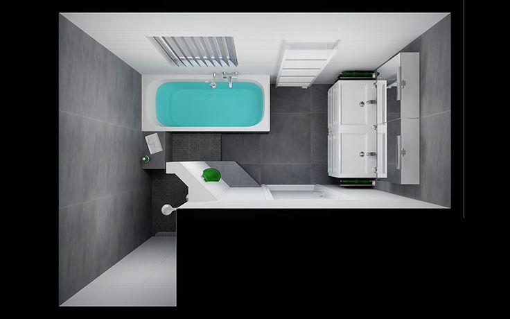 25 beste idee n over badkamer tegels ontwerpen op pinterest - Deco kleine badkamer met bad ...