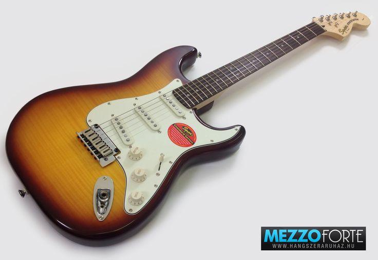 Squier Standard Stratocaster FMT, Amber Sunburst