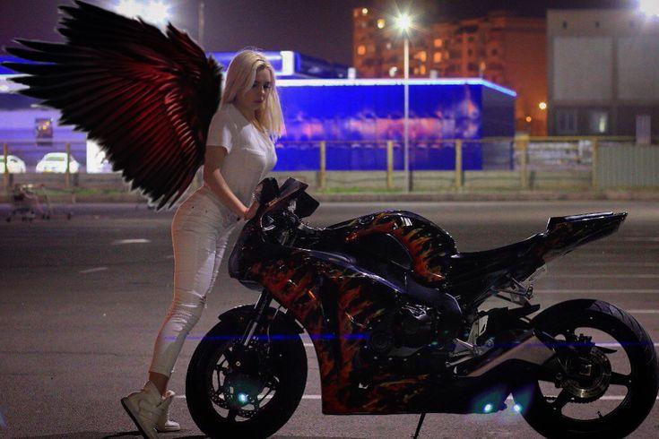 состояли картинки ангела на мото варианты подойдут