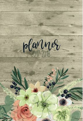 This academic year planner is a great way to get organized for school whether you are a mom, college student, teengager, professional, or a single woman.