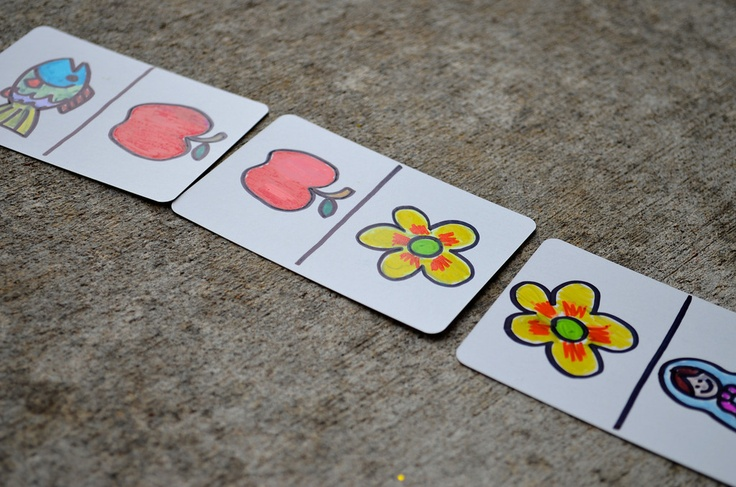 Use blank playing cards to make your own games- memory, dominoes, get creative!