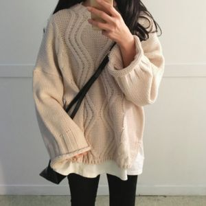 Diamond Knit Sweater