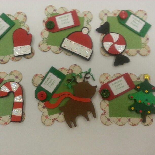 Tarjeticas de presentación de navidad