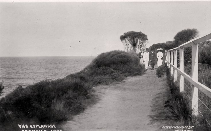The Esplanade, Cronulla c.1900s Sutherland Shire Libraries Local Studies Collection