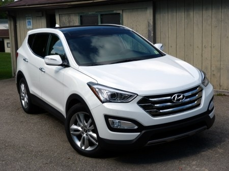 thinking about the new Hyundai Santa Fe Sport 2.0T
