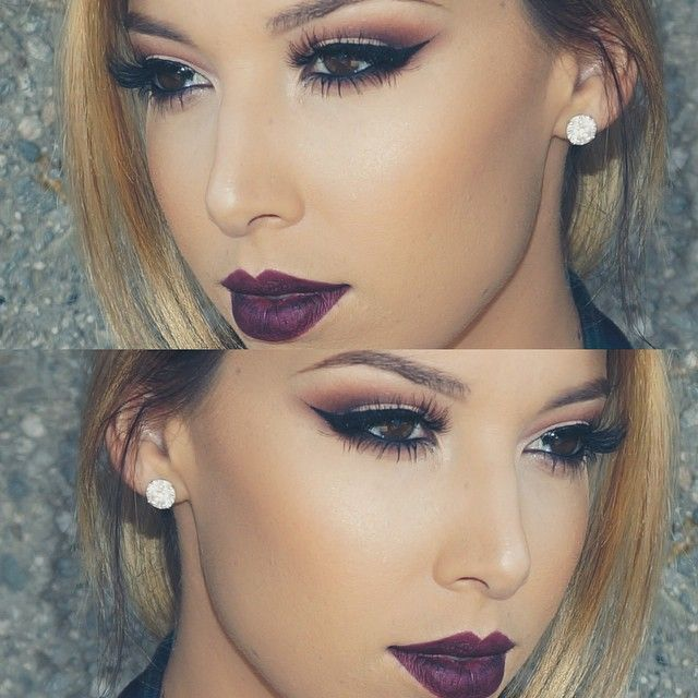 perfect fall makeup #makeup #eyes #lips #perfect
