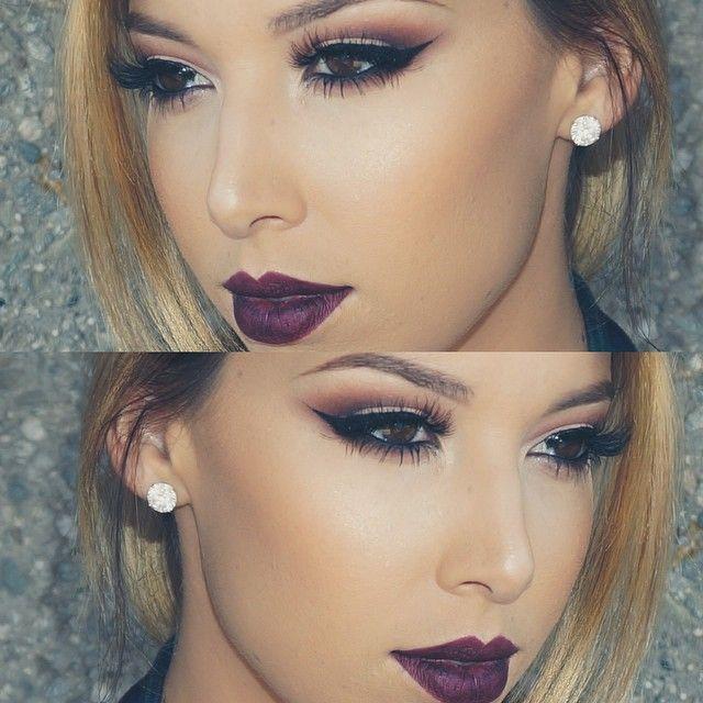 perfect fall makeup #makeup #eyes #lips #perfect