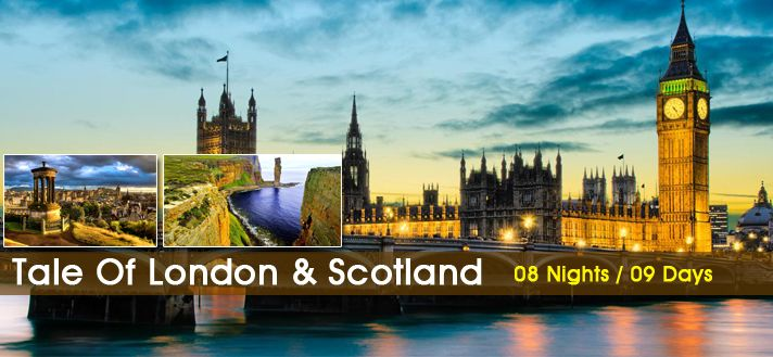 #EuropeGroupTours offers Customized #Holiday #TourPackages for #London #Scotland 2015 from #Delhi #India.