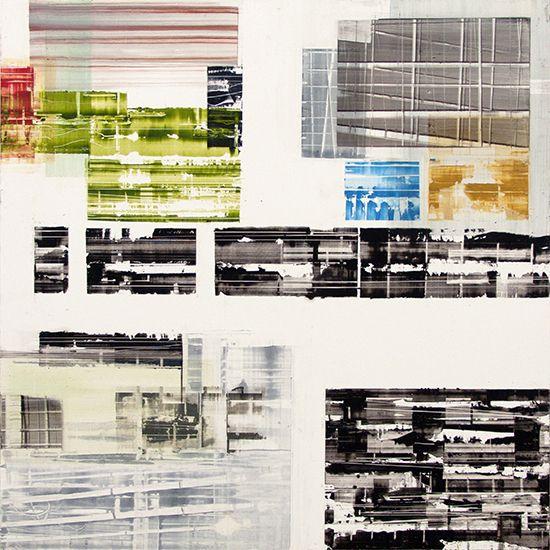 "Untitled 11.2, 2013, oil on panel, 24"" x 24"" (61 x 61 cm)"