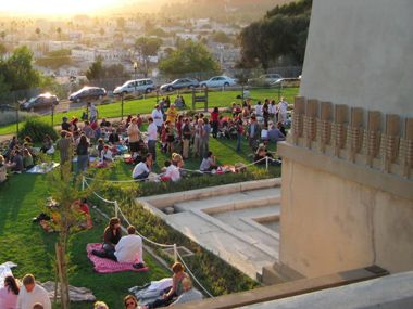 Barnsdall Art Park    Friday Night Wine Tastings from Silverlake Wine + gourmet food trucks + a free emerging LA artist exhibit = a cool night out!