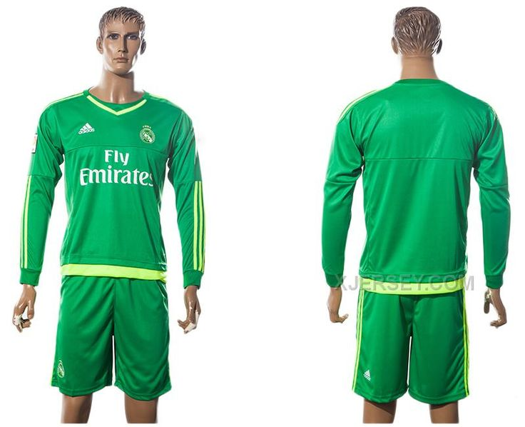 http://www.xjersey.com/201516-real-madrid-away-goalkeeper-long-sleeve-jersey.html 2015-16 REAL MADRID AWAY GOALKEEPER LONG SLEEVE JERSEY Only $35.00 , Free Shipping!
