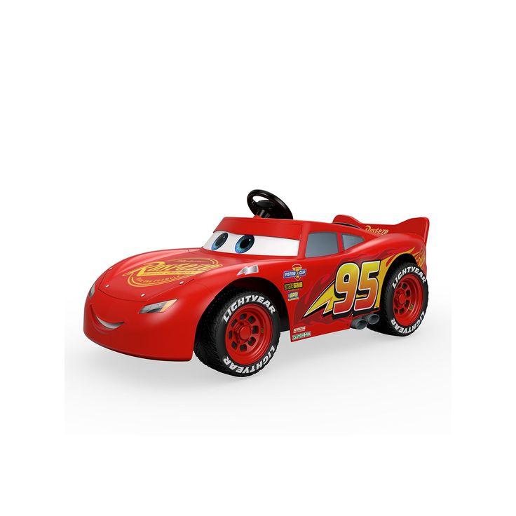 Disney / Pixar Cars 3 Lightning McQueen Ride-On by Power Wheels, Multicolor