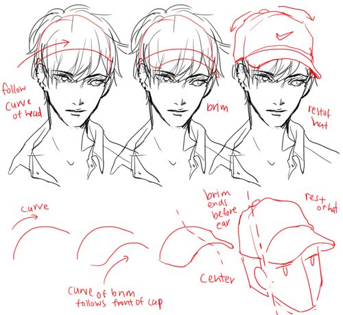 Anime Character Design Tutorial : Best images about art tips on pinterest horns