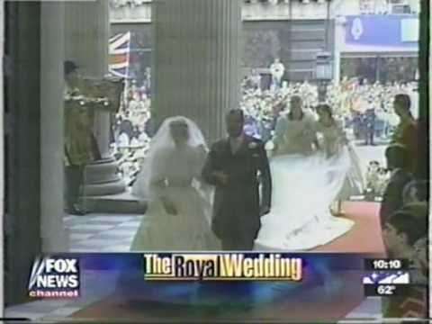 The Bridal Procession Of Lady Diana Spencer On Day Her Marriage To Hrh Prince Charles At St Paul S Cathedral 1981 Edite