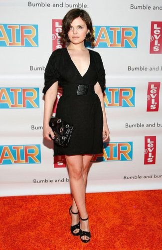 Ginnifer Goodwin at the Hair Broadway opening, NYC
