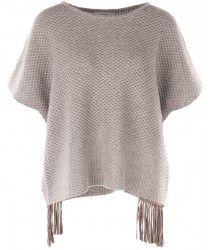 #Poncho #Grey #cashmereponcho #fransen #niceconnection #luxuryfashion #knitfashion #aw15 #hw15