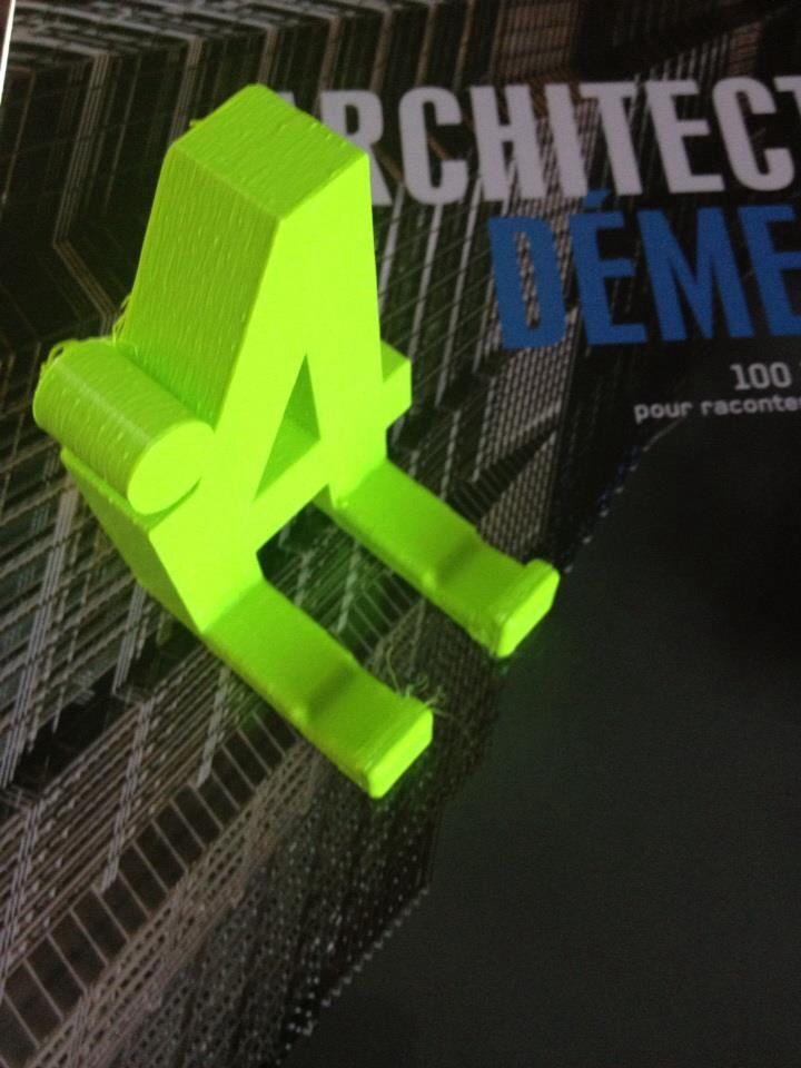 Impression 3D en fil PLA et ABS par MALOU CRÉAMIR