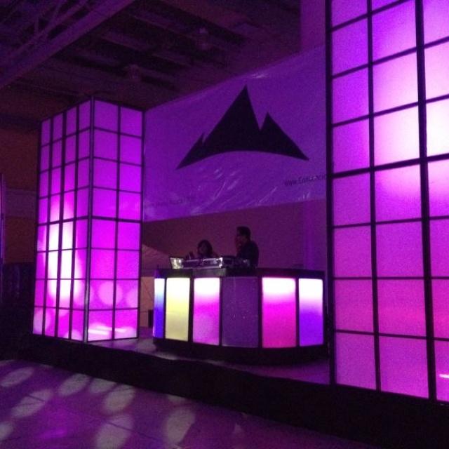 Ecenografia e iluminacion evento Convenciones Sinaloa!!