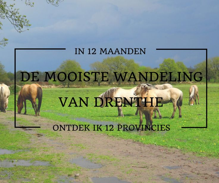 Mooiste wandeling van Drenthe