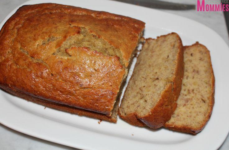 super moist banana bread- super easy to make banana bread, moist and delicious, family recipes, east to make banana bread