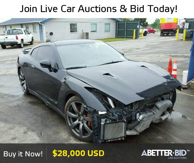 Salvage  2010 NISSAN GTR for Sale - JN1AR5EF0AM230039 - https://abetter.bid/en/24888236-2010-nissan-gt-r--premi