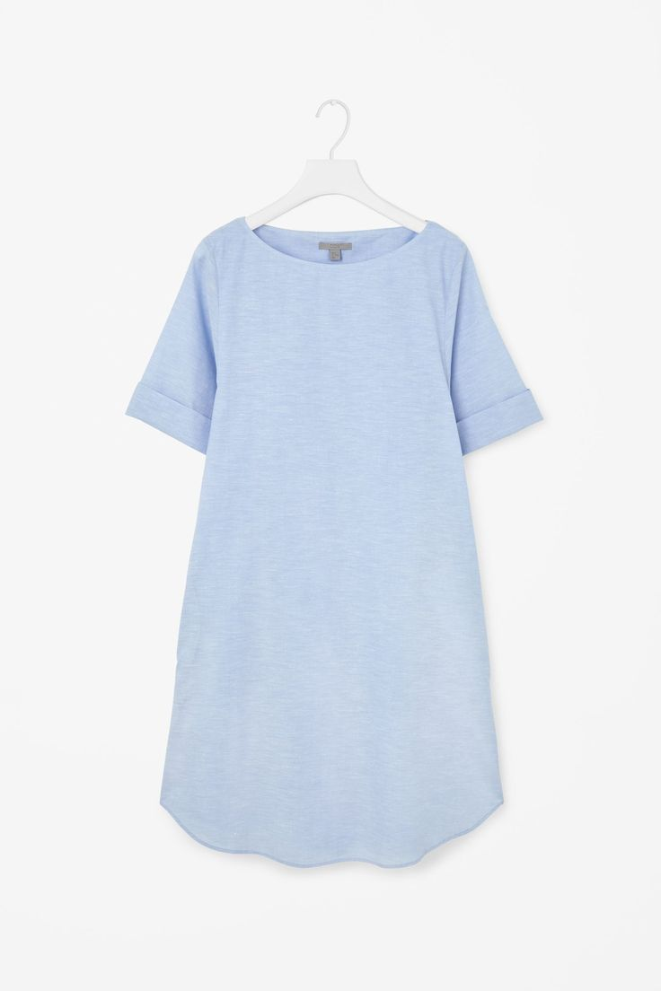 COS-Cotton and linen dress