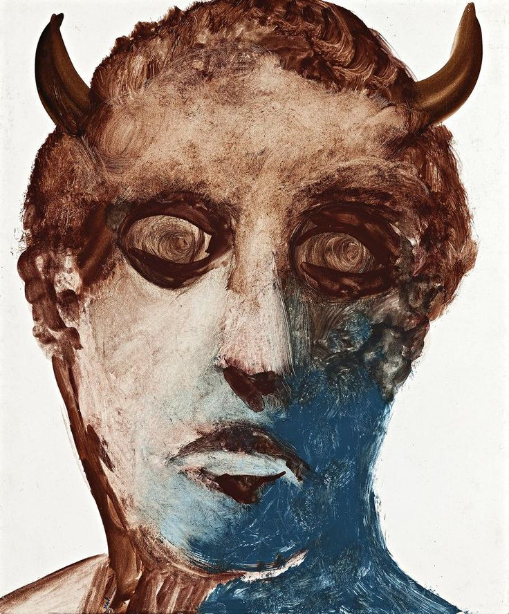 Sidney Nolan, SATYR, 1956 | Deutscher and Hackett