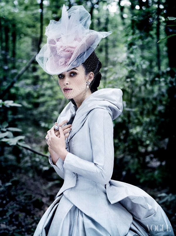 "Mario Testino for Vogue ...   inspired from her latest move ""Anna Karenina""."