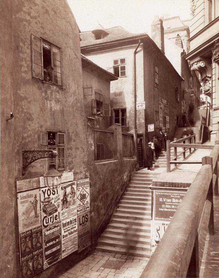 August Stauda, Königsklostergasse, 1905/05 © Wien Museum