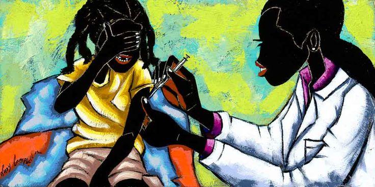 leroy campbell artwork | Brave Girl, 2012 Mixed Media, Acrylic on Canvas 6 x 12 1400.00