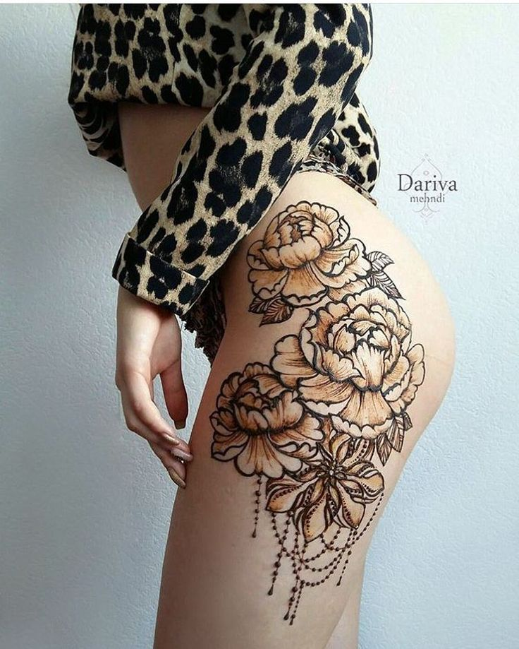 25+ Best Ideas About Thigh Henna On Pinterest