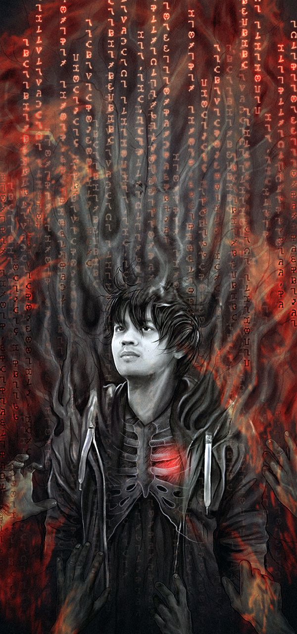 I don't even watch Supernatural, I just really like the fanart. This is Kevin Tran I think, based on what I've seen on pinterest. This is by the amazing Petite Madame on tumblr. She draws a lot of really cool stuff.