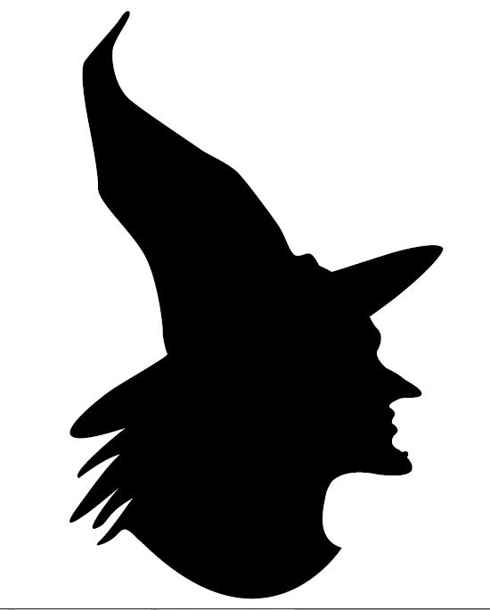 silhuetas caras de bruxas - Pesquisa Google